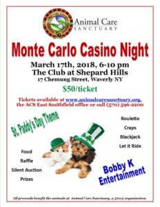 Monte Carlo Casino Night - 2018 @ Shepard Hills Country Club | Waverly | New York | United States