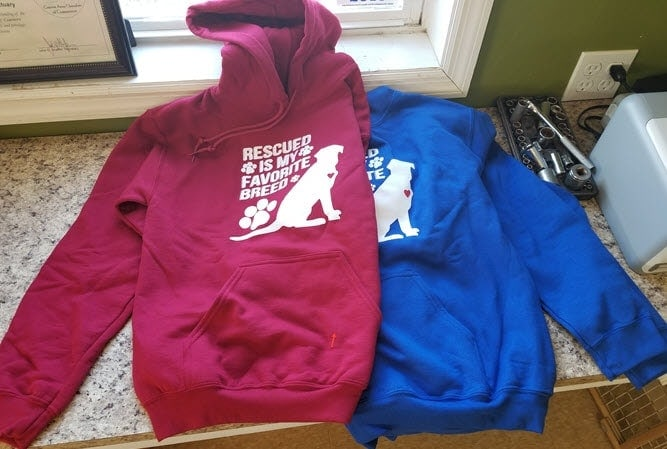 rescued hoodies acs