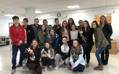 Flying Fur, Howls & Purrs: Sayre High School Seniors Tell The Animals' Stories