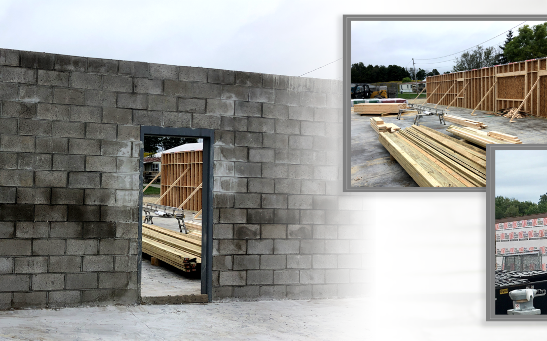 Progress Continues In The Construction Of The New ACS Community Clinic & Kennels