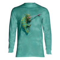 Climbing Chameleon Long Sleeve Shirt
