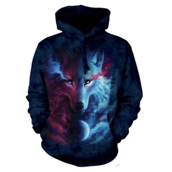 Where the Light and Dark Meet Hoodie