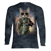 Tom Cat Long Sleeve Shirt