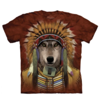 Wolf Spirit Chief T Shirt