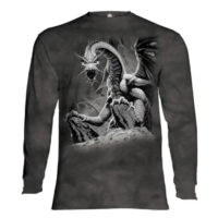 Black Dragon Long Sleeve Shirt