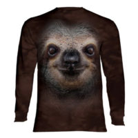 Sloth Face Long Sleeve Shirt