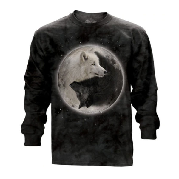 Yin Yang Wolf Long Sleeve