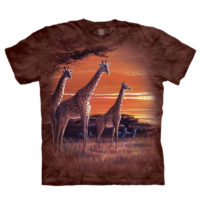 Sundown Giraffe T Shirt