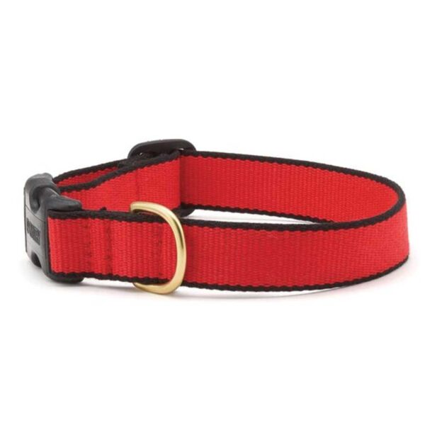 Green Market Red and Black Dog Collar available at Animal Care Sanctuary