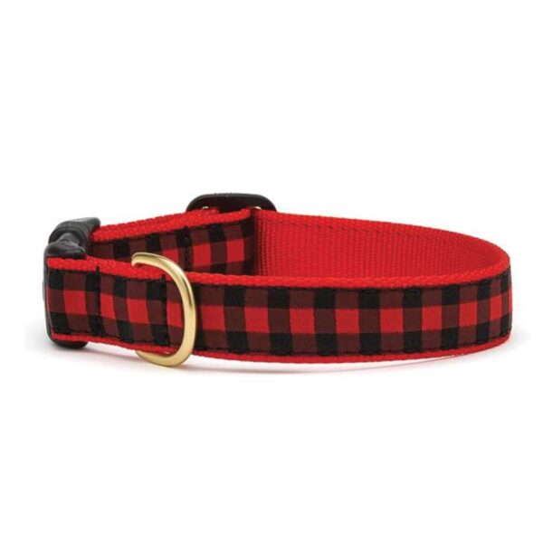 Buffalol Checkered Dog Collar available at Animal Care Sanctuary