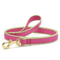 Green Market Bright Pink and Lime Leash