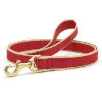 Green Market Red and Tan leash available at Animal Care Sanctuary