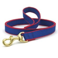 Green Market Royal Blue and Red Leash Available at Animal Care Sanctuary