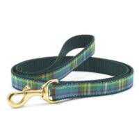 Kendall Plaid Leash Available at Animal Care Sanctuary