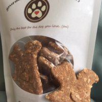 Bo's Bones Squirrel Shaped Treats available at Animal Care Sanctuary in E. Smithfield, PA