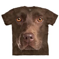 Chocolate Labrador T Shirt available at Animal Care Sanctuary