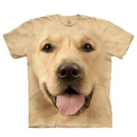 Golden Labrador T Shirt available at Animal Care Sanctuary