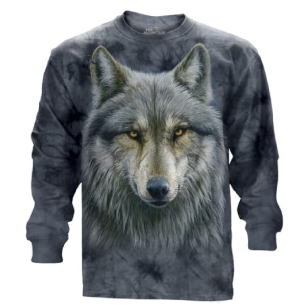 Warrior Wolf Long Sleeve Shirt available at Animal Care Sanctuary in E. Smithfield PA