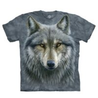 Warrior Wolf T shirt available at Animal Care Sanctuary in East Smithfield, PA