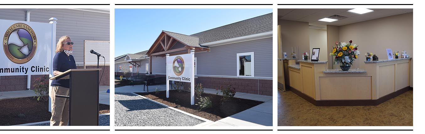Grand Opening of New Kennel and Clinic at Animal Care Sanctuary in East Smithfield, PA