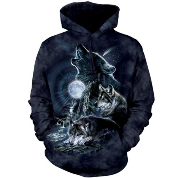Bark At The Moon Hoodie available at Animal Care Sanctuary in East Smithfield, PA