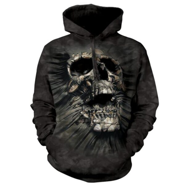 Breakthrough Skull Hoodie at Animal Care Sanctuary, East Smithfield PA