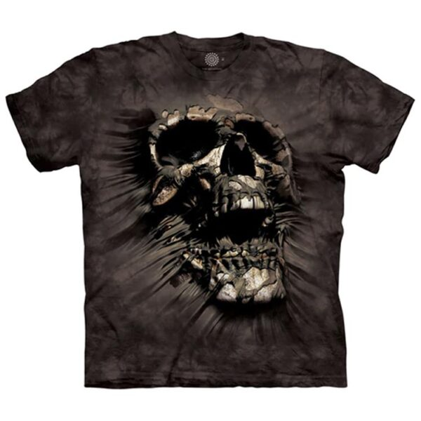 Breakthrough Skull T Shirt available at Animal Care Sanctuary in East Smithfield, PA