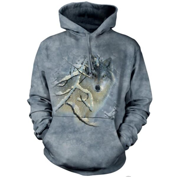 Broken Silence Hoodie (wolf) available at Animal Care Sanctuary in East Smithfield, PA
