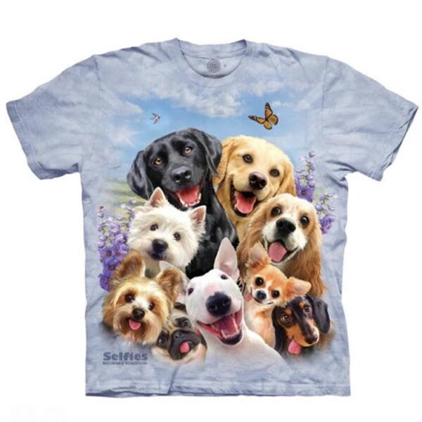 Dog Selfe T-shirt available at Animal Care Sanctuary