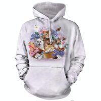 Garden Wonders Cat Hoodie - available at Animal Care Sanctuary