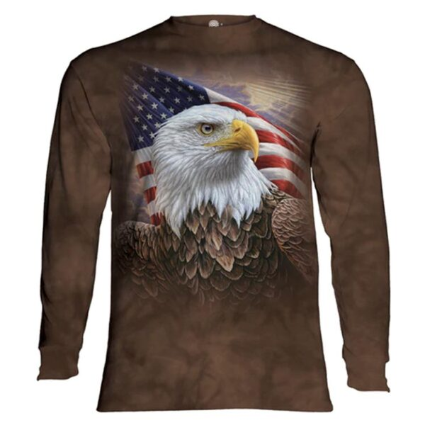 Independence Eagle Long Sleeve Shirt at Animal Care Sanctuary in East Smithfield Pennsylvania
