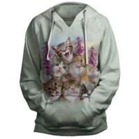 Kitten Selfie Hoodie - available at Animal Care Sanctuary