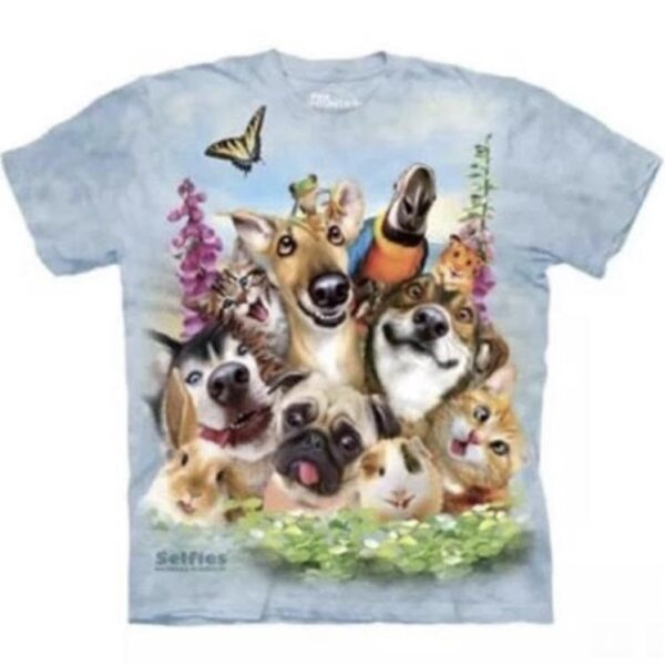 Pet Selfie T-shirt available at Animal Care Sanctuary
