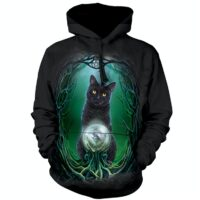 Rose of Witches Hoodie available at Animal Care Sanctuary