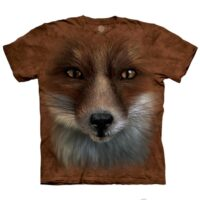 Big Face Fox T shirt at Animal Care Sanctuary