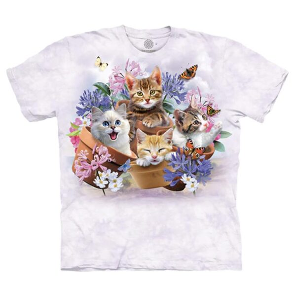 Garden Wonders Cat T Shirt available at Animal Care Sanctuary in East Smithfield, Pennsylvania