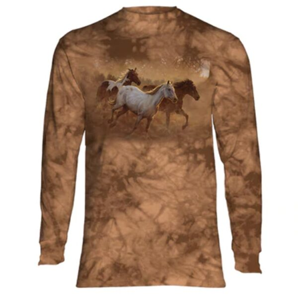 Gold Run Long Sleeve Shirt at Animal Care Sanctuary in East Smithfield, PA