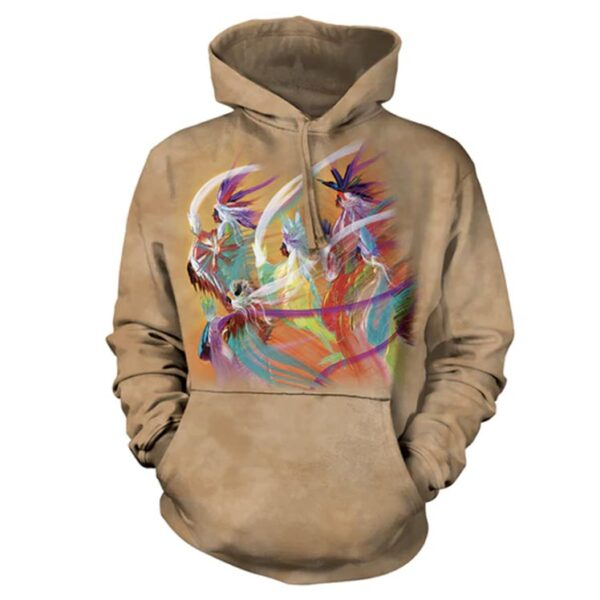 Rainbow Dance Hoodie at Animal Care Sanctuary