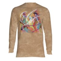 Rainbow Dance long sleeve shirt at Animal Care Sanctuary