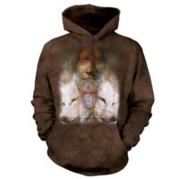 Sacred Transformation Native American hoodie at Animal Care Sanctuary