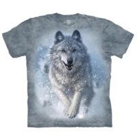 Snow Plow Wolf T Shirt at Animal Care Sanctuary in East Smithfield and Wellsboro Pennsylvania