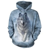 Wolf Snow Plow Hoodie at Animal Care Sanctuary in East Smithfield, PA