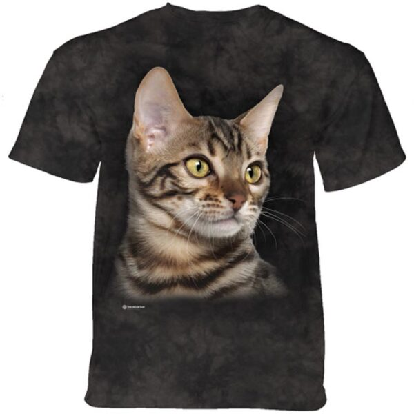 Striped Cat T shirt at Animal Care Sanctuary