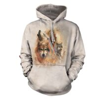 Unity, Native American hoodie at Animal Care Sanctuary in East Smithfield, Pennsylvania