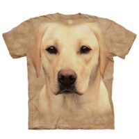 Yellow Lab T shirt available at Animal Care Sanctuary