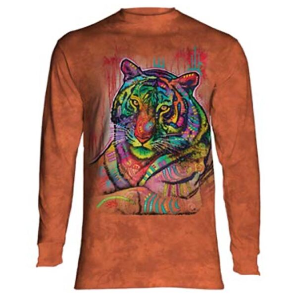 Russo Tiger long sleeve shirt available at Animal Care Sanctuary