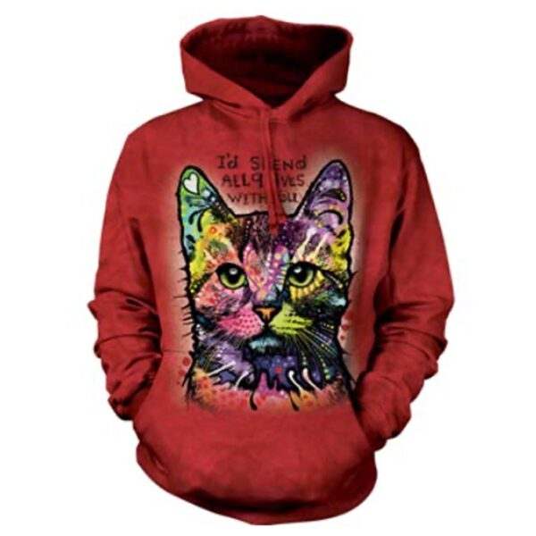 All Nine Lives Hoodie - Russo Design