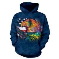 Eagle Patriot Hoodie - Dean Russo design