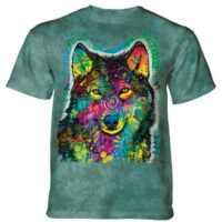 Gentle Wolf T shirt - Dean Russo design