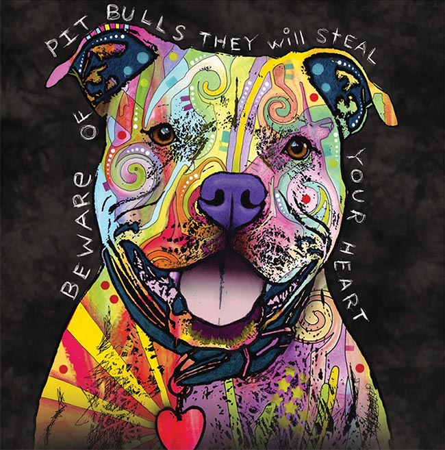 Dean Russo Pit Bull Design at Animal Care Sanctuary
